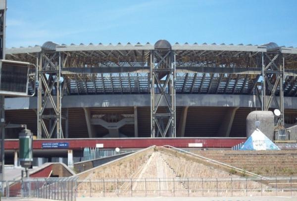 Неаполь. Новый стадион Сан-Паоло будет иметь 41000 посадочных мест
