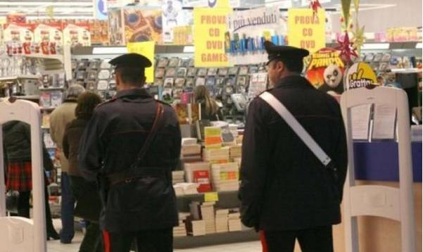 Кража произошла в городе Карбония