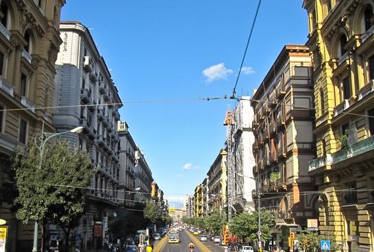 Городской совет обнародовал много новостей, касающихся изменений в облике районов Неаполя, а именно проспекта Умберто II
