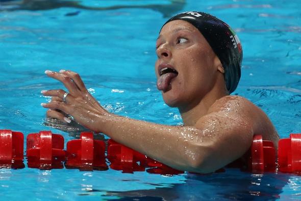 Федерика Пеллегрини стала серебряным призером на своей любимой 200-метровке вольным стилем