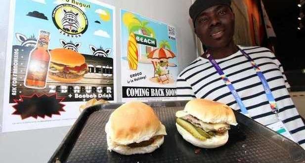 Экспо -2015. На смену гамбургеру с мясом крокодила пришёл гамбургер с мясом зебры