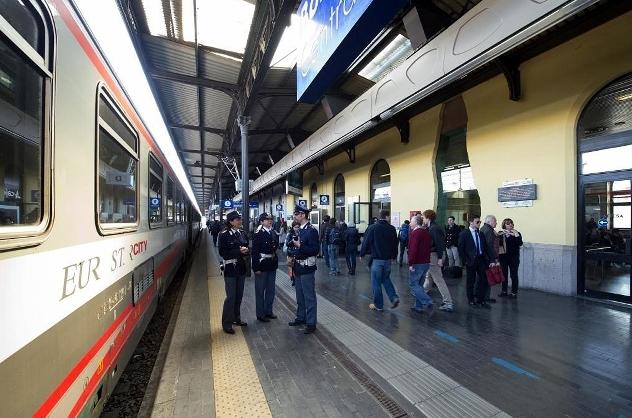 Паника в поезде Неаполь - Казерта