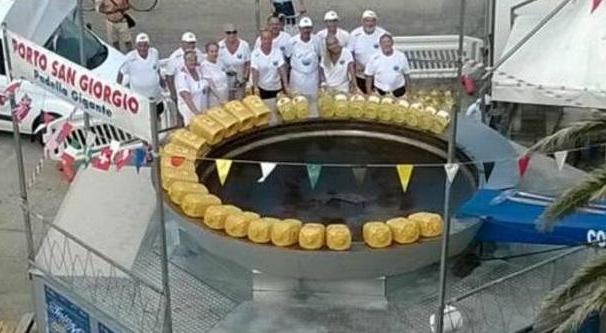 Марке, Порто-Сан-Джорджо. «Сковорода-гигант - 2015»