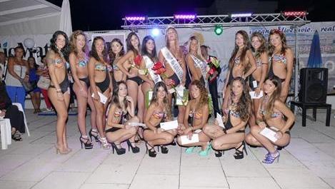 Торре-дель-Греко. Выбраны победительницы конкурса красоты «Мисс Русалка»