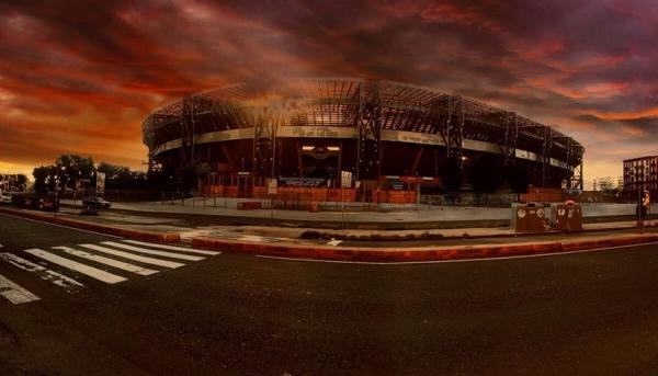 красавец-стадион «Сан Паоло»