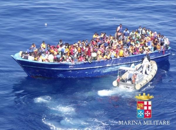 Более трех тысяч мигрантов спасены в Сицилийском проливе