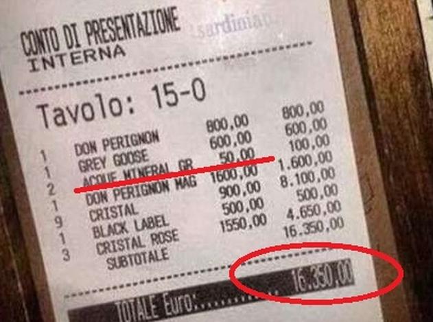 Беззаботное лето для тех, кто незнаком с кризисом: бутылка воды стоит 50 евро