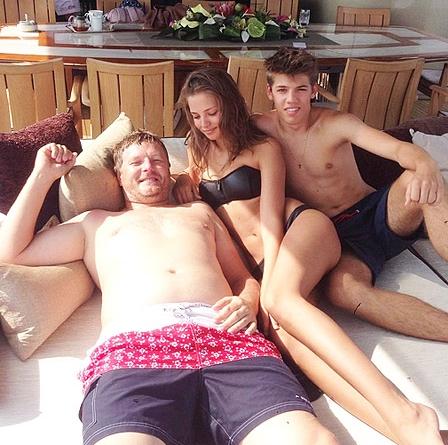 Евгений Кафельников отдыхал в Италии вместе с семьей в гостях у парня своей дочери