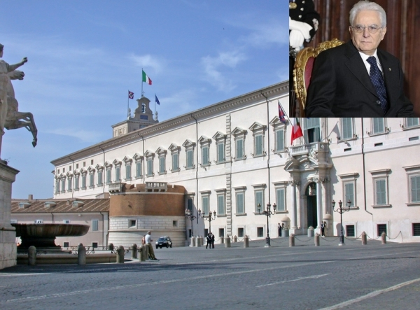 Обслуживающий персонал администрации президента Италии будет выселен из служебных квартир
