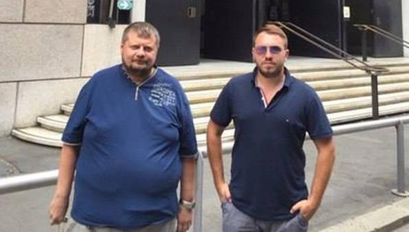 Мосийчук и Лозовой отдыхают в Генуе