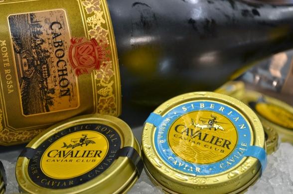 Наблюдается рост импорта черной икры из Италии в Россию
