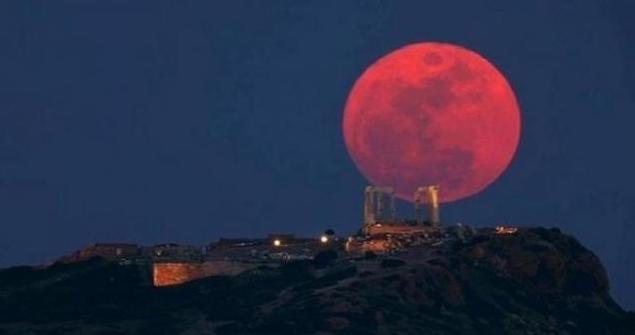 28 сентября над планетой Земля взойдёт «кровавая» луна