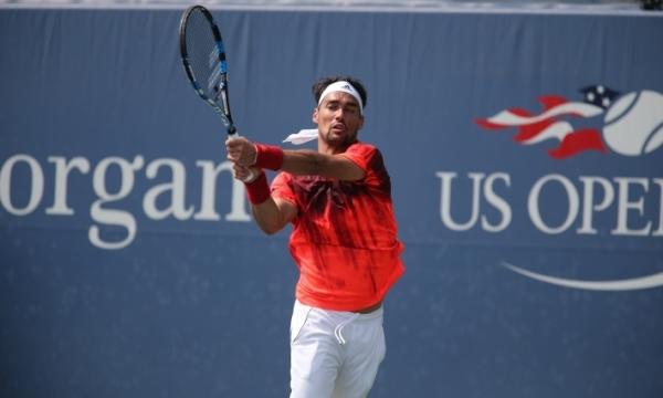 Фабио Фоньини, одержавший блестящую победу в третьем раунде US Open