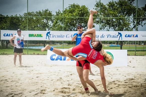 Италия, спорт: Beach Wrestling (борьба на песчаном пляже)