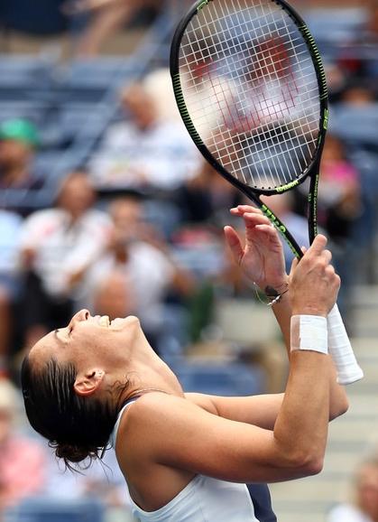 Флавия Пеннетта, дважды попадавшая в полуфинал US Open, наконец-то смогла добыть путевку в финал