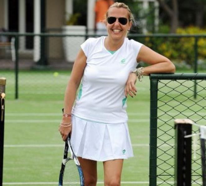 итальянская теннисистка Рафаэлла Реджи выигрывала титул в миксте