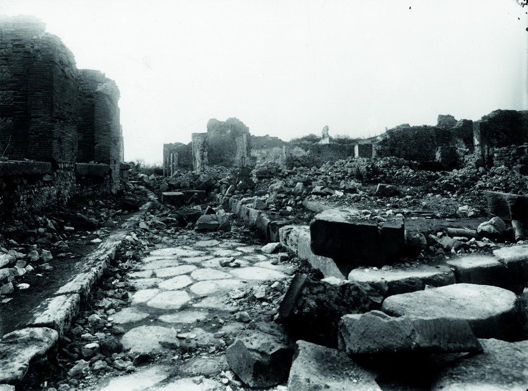 Помпеи после бомбардировок немецкими фашистами