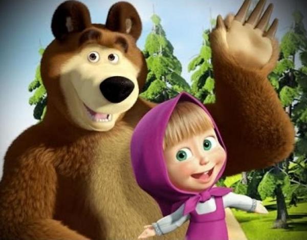 Риски для самого любимого итальянскими детьми мультика «Маша и Медведь»