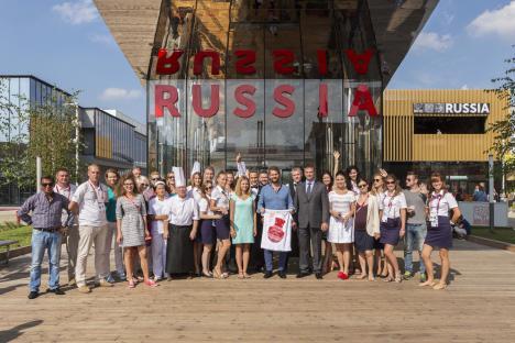 Экспо-2015, павильон России принял 2.222.222 посетителя