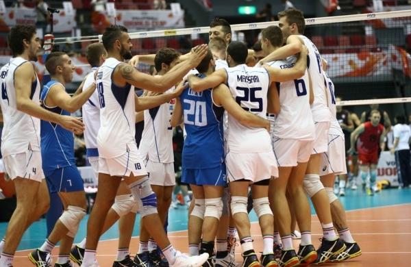 Волейболисты Италии отправляются в поход за олимпийскими путевками