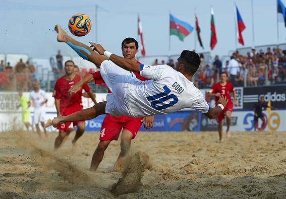 Италия, спорт: Beach Soccer (пляжный футбол)