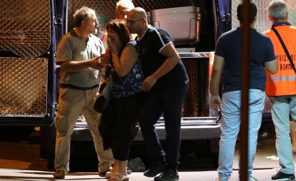 Неаполь. При попытке помешать ограблению убит украинец