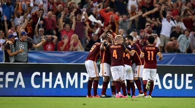 Лига Чемпионов. «Рома» отстояла ничью с чемпионом