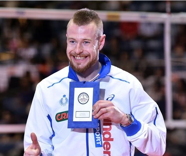 итальянских волейболиста: диагональный Иван Зайцев