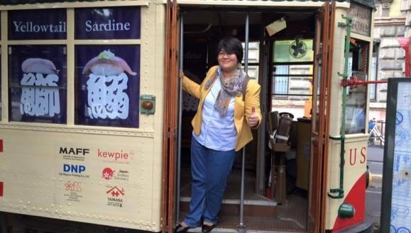 Суши-трамвай в Милане: бесплатные дегустации