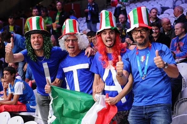 Итальянцы легко побеждают Израиль