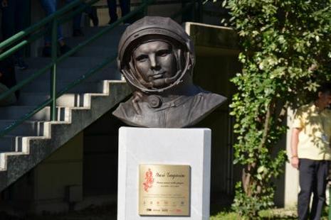 Бюст Юрия Гагарина теперь появился в Италии