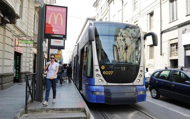 Турин. Бесплатный проезд на автобусе и трамвае