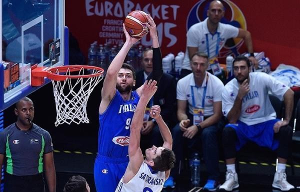 итальянской сборной набирает центровой «Бруклин Нетс» Андреа Баргани