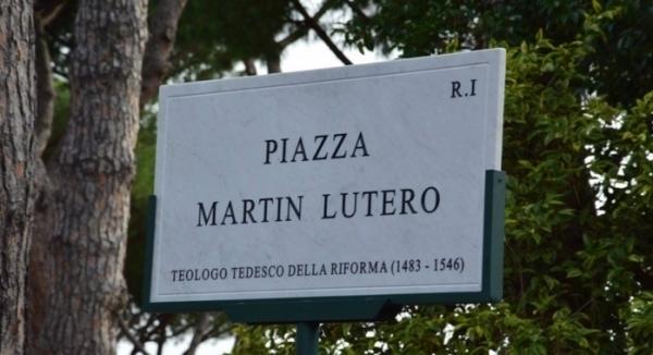 Рим: новая городская площадь имени Мартина Лютера