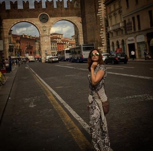 Ирина Безрукова отправилась на отдых в Италию после развода с мужем