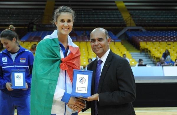 В сборную «всех звезд» чемпионата вошла центральная блокирующая сборной Италии Анна Данези