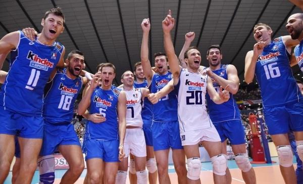 Сборная Италии по волейболу завоевала второе место на Кубке мира