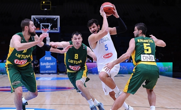Сборная Италии без медалей Евробаскета, но с олимпийскими надеждами