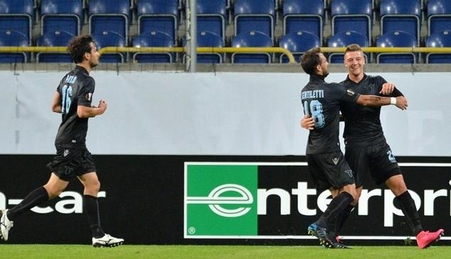 Футбол, Лига Европы. «Лацио» немного не хватило удачи в Украине