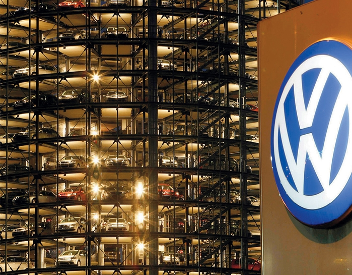 Volkswagen выпустил бракованные авто, которые загрязняют воздух выхлопными газами