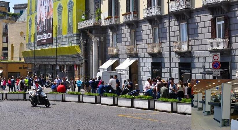 Украинка с французом украли одежду в дорогом магазине Неаполя