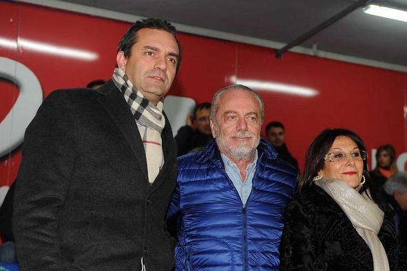 Президент Наполи Аурелио Де Лаурентис ищет новую территорию под стадион
