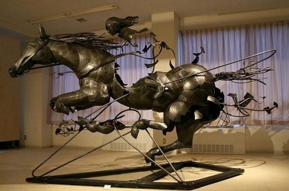 Дни российской культуры в Милане продолжаются - выставка скульптора Даши Намдакова