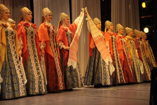 Государственный академический Северный русский народный хор — гость Экспо-2015