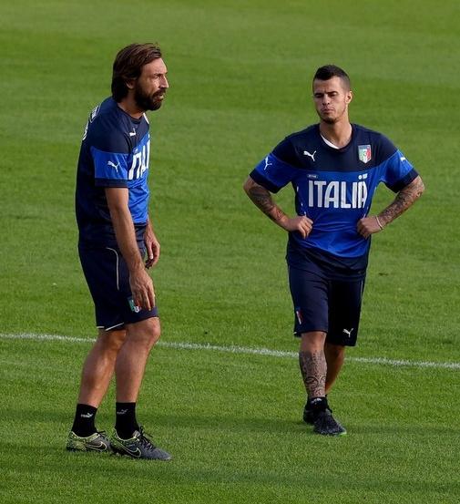 Сборная Италии по футболу готовится к очередным матчам квалификации Евро – 2016