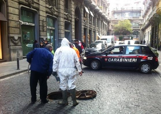 В центре Неаполя обнаружен подкоп под ювелирный магазин