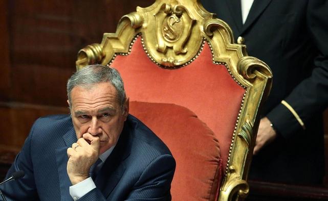 Председатель Сената Пьетро Грассо