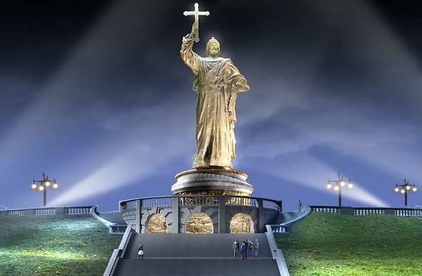 Рим украсит памятник Владимиру Великому