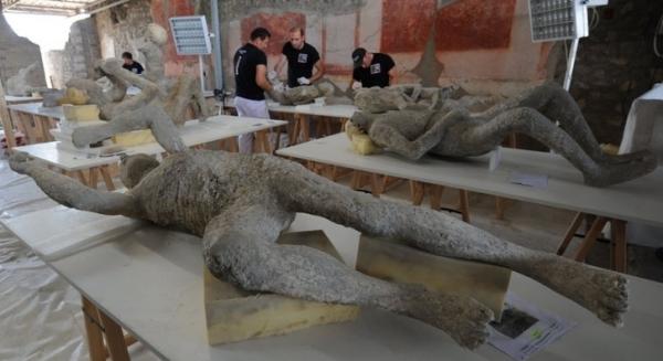 Исследования показали, что у жителей Помпеи было хорошее здоровье