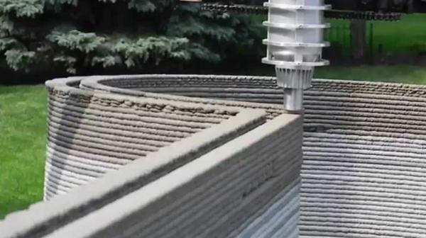 СМИ Италии: 3D-принтер сможет печатать дома из глины и грязи